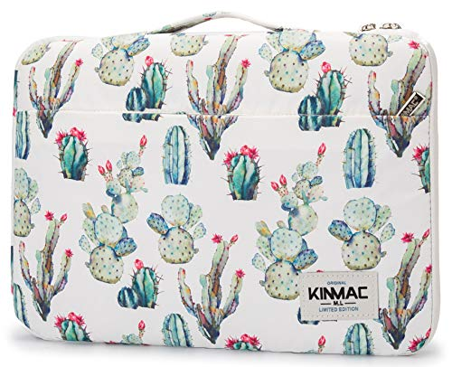 """Kinmac Cactus 360° Protective Water Resistant 12 inch-13 inch Laptop Case Bag Sleeve with Handle for Surface Pro,MacBook Pro 13"""" ,MacBook 12"""",New MacBook Air 13"""" Retina and iPad pro 12.9"""