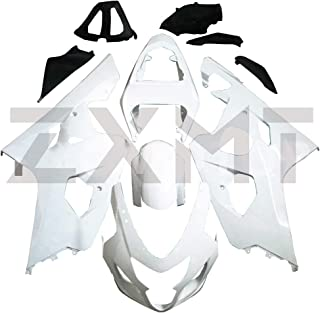 PROMOTOR Unpainted Fairing Kit Motorcycle Full Fairing Bodywork Cover for Suzuki GSXR600 GSXR750 K4 (2004-2005)