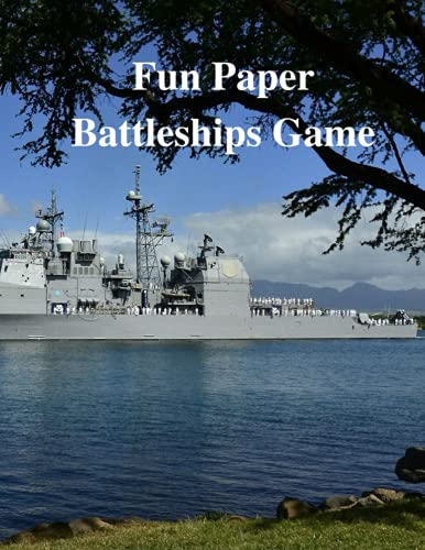 Fun Paper Battleships Game: This notebook and a pen is all you need