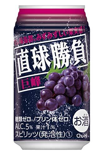 合同酒精 直球勝負 巨峰(350ml×24本)×2ケース