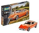 Revell Modellbausatz Auto 1:32 - Opel GT im Maßstab 1:32, Level 3, originalgetreue Nachbildung mit vielen Details, 07680 -