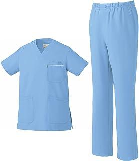MIZUNO ミズノ スクラブ&スクラブパンツ 上下セット 男女兼用 MZ-0018 MZ-0019 医療用白衣