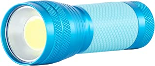 Dorcy 100-Lumen Weather Resistant Glow-In-The-Dark LED Flashlight with Lanyard and Aluminum Construction, Assorted Colors...