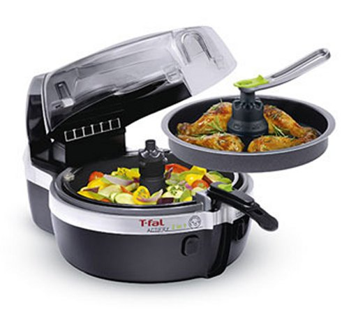 T-Fal YV960151 ActiFry 2 IN 1 Multi-Cooker, Black