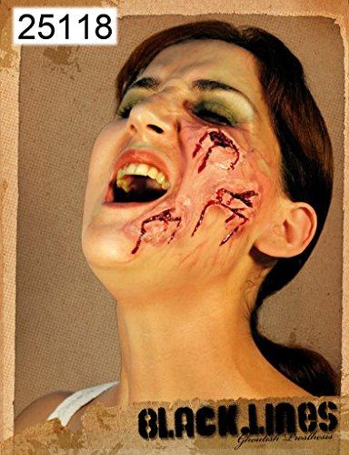 Generique - Fausses blessures Visage Adulte