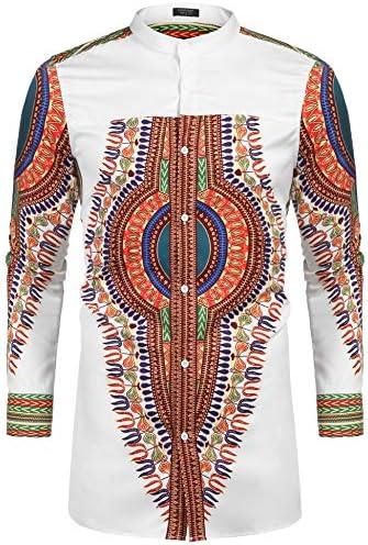 African print shirts men _image1