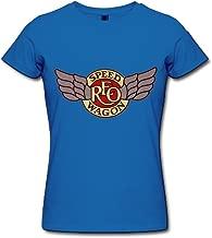FK REO Speedwagon Tour 2015 Logo T Shirt For Women Black
