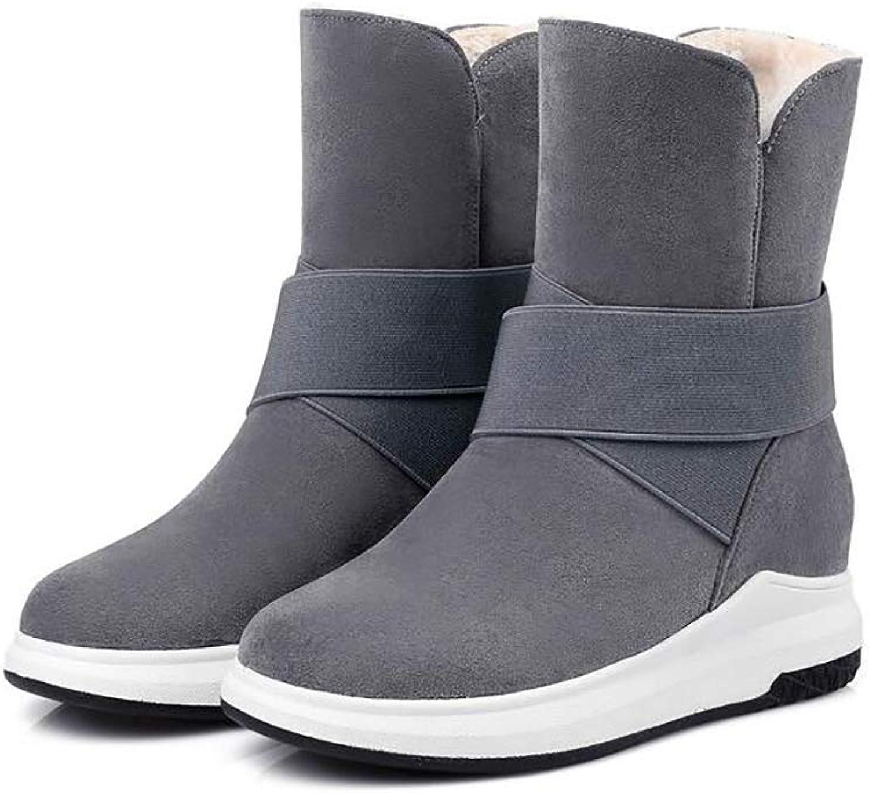 Winter Snow stövlar kvinnor Hot kort kort kort stövlar Frosted Vamp Plush Lining Mode Causal skor  factory outlet online rabatt försäljning