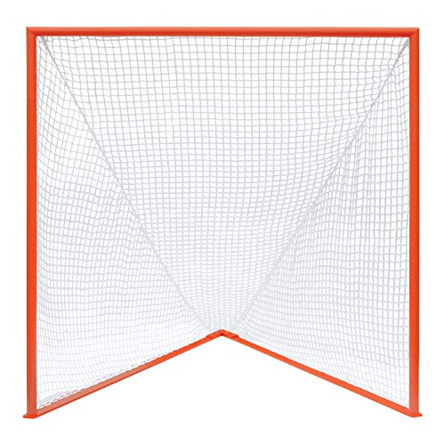 Champion Sports Collegiate Lacrosse Goals: 6x6 Feet Professional Mens & Womens Goal in Multiple Colors - Net Sold Separately