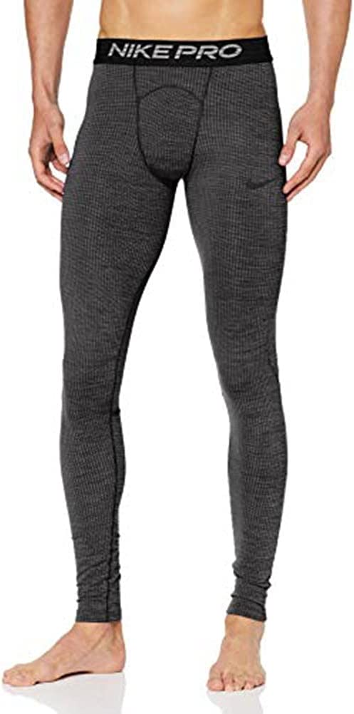 Nike Men's Pro Tights Heathered 100% quality warranty Max 49% OFF Training