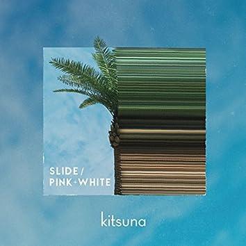 Slide/Pink+White