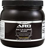 ARO-Vitacost Black Series Glutamine Raw Unflavored - 5 Grams - 1.1 lb (500 g)