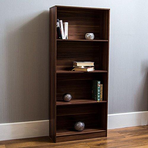 Vida Designs Cambridge, Walnussholz, 4Ebenen, Bücherregal Display, Regal, Holz, für Wohnzimmer