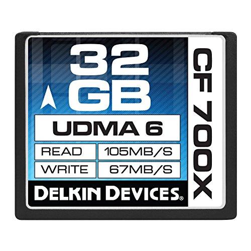 Delkin DDCF700-32GB 32GB CF 700X Memory Card