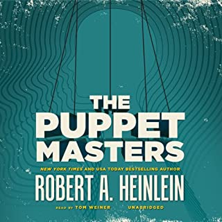 The Puppet Masters audiobook cover art