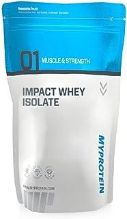 MyProtein Impact Whey Isolate Proteína de Suero, Sabor Vainilla - 2500 gr