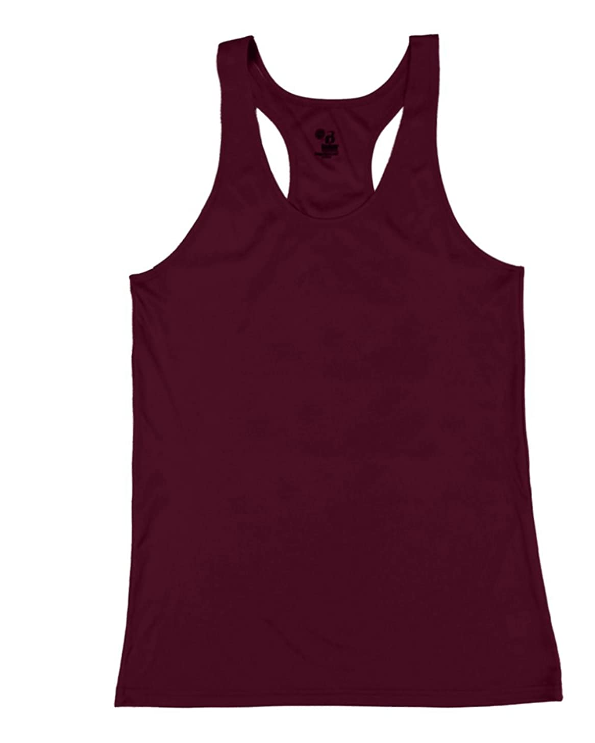Badger Sport Maroon Ladies Medium B-Core Moisture Wicking Racerback Tank Sports Top