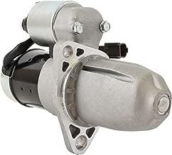 DB Electrical SHI0053 New Starter For 3.0L 3.0 Infiniti I30, Nissan Maxima 96 97 98 99 1996 1997 1998 1999 W Engine 111382 336-1657 S114-801B S114-801C 17713 23300-31U01 23300-31U02 STR-3301 2-1856-HI
