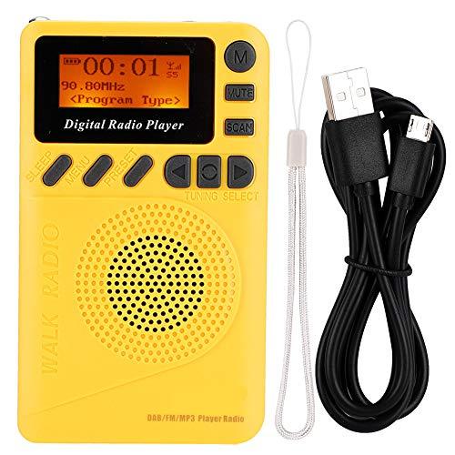CUTULAMO Digitales Taschenradio, Mini...