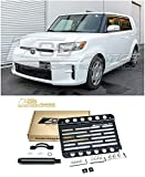 Extreme Online Store Replacement for 2008-2015 Scion xB | EOS Plate Version 1 Front Bumper Tow Hook License Plate Relocator Mount Bracket Tow-285 (Mid Size)