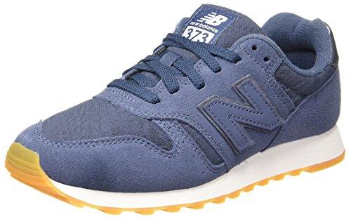New Balance Damen WL373 Sneaker, Blau (Navy/white/WL373NVW), 37.5 EU