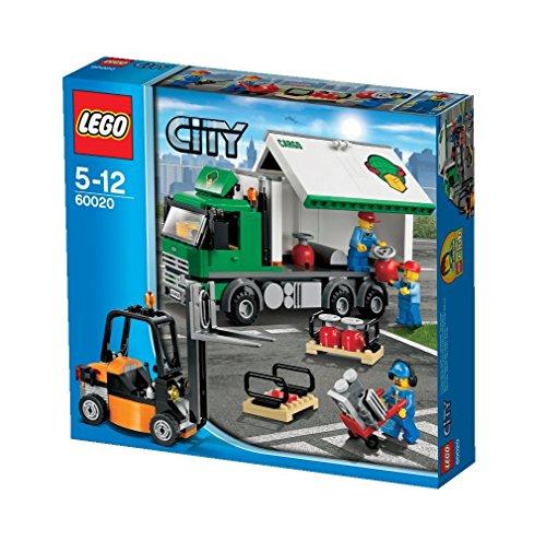 LEGO City 60020 - LKW mit Gabelstapler
