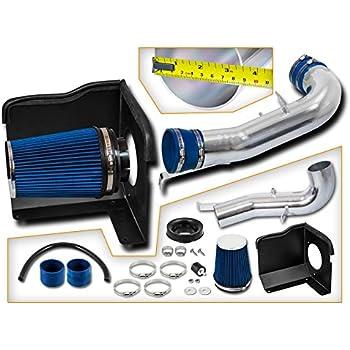 FOR 07-08 Chevy Silverado Tahoe 4.8L 5.3L V8 RED Cold Air Intake Kit+Heat Shield