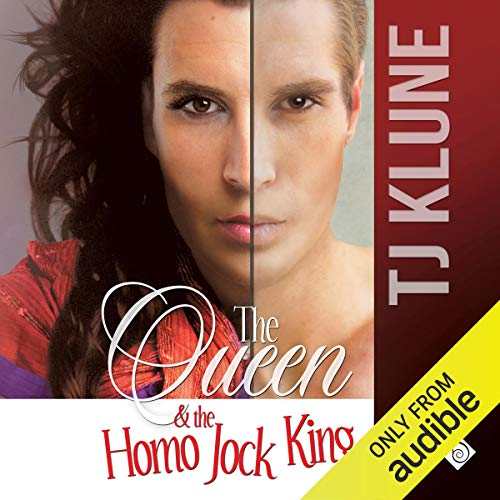 The Queen & the Homo Jock King audiobook cover art
