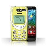 Stuff4 Phone Case/Cover for Motorola RAZR D3/XT919 / Yellow