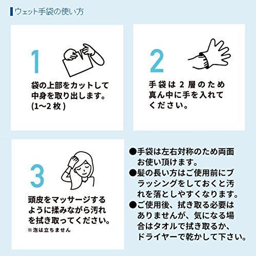 四国紙販売『水のいらない泡なしシャンプーウェット手袋』