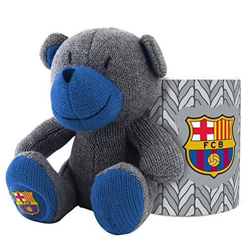 FC Barcelone Ensemble tasse et ours