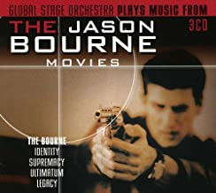 Plays Music from the Jason Bourne Movies Original Soundtrack