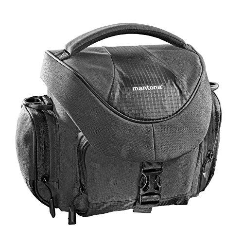 'Mantona Premium–Bolsa para cámara, 21691Antracita