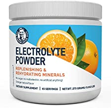 Dr. Berg's Original Electrolyte Powder, High Energy, Replenish & Rejuvenate Your Cells, 45 Servings, NO Maltodextrin or Sugar, No Ingredients from China, Amazing Orange Flavor