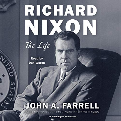 Richard Nixon audiobook cover art