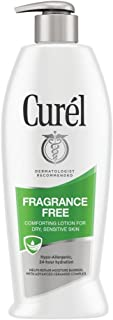 Curél Fragrance Free Comforting Body Lotion for Dry, Sensitive Skin, 13 Ounces