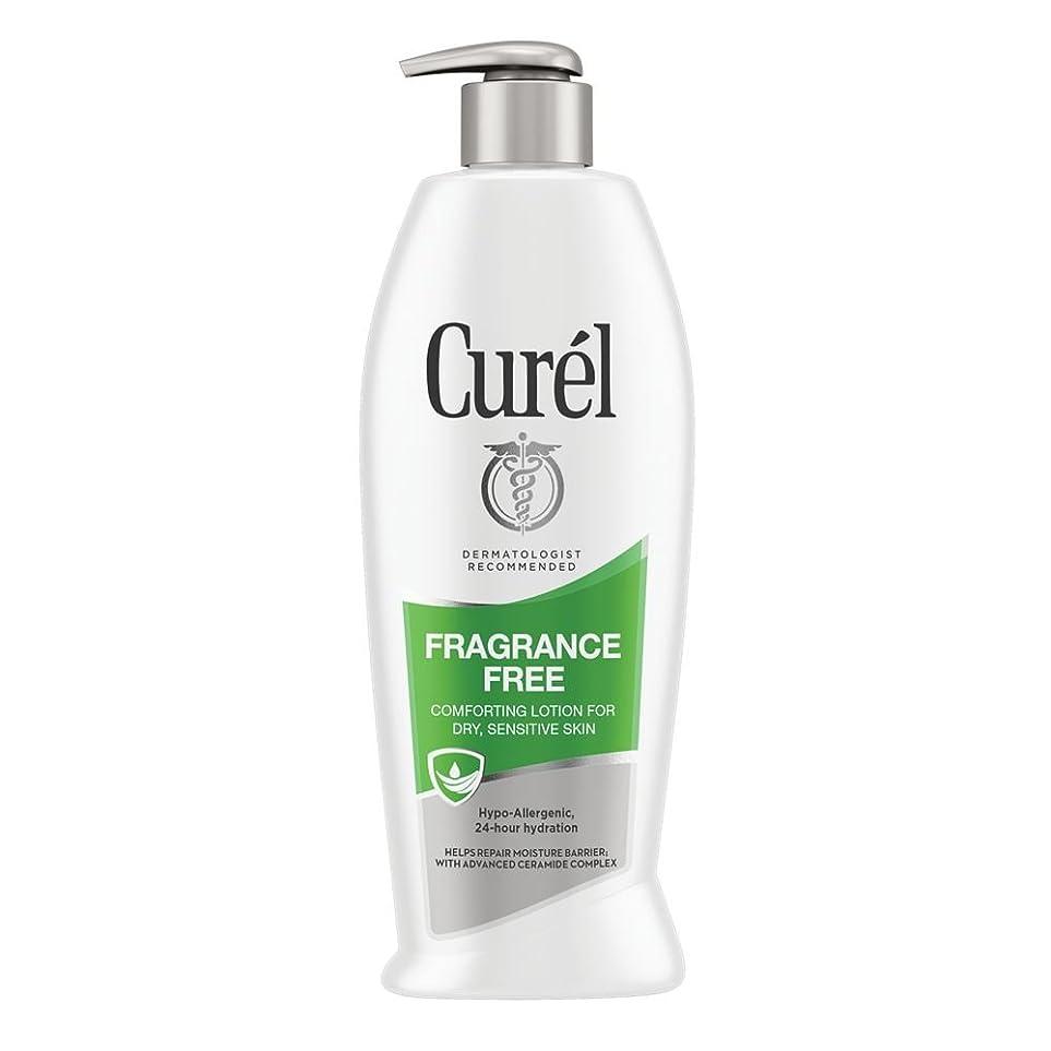 上級実際の移動するCurel Continuous Comfort 24-Hour Daily Moisturizing Lotion For Dry Skin Fragrance Free 385 ml (並行輸入品)