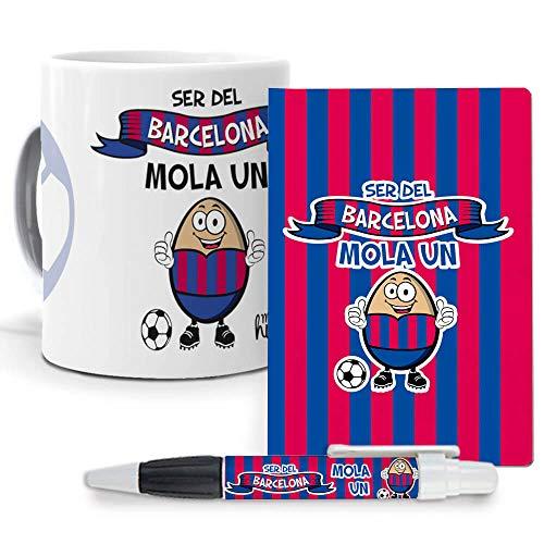 Pack Original y Personalizado para Regalo, Ideal para Hobby. Ser del Barcelona...