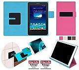 reboon Hülle für Asus FonePad 7 Dual FE175CG Tasche Cover Hülle Bumper | in Pink | Testsieger