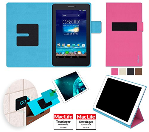 Hülle für Asus FonePad 7 Dual FE175CG Tasche Cover Hülle Bumper | in Pink | Testsieger