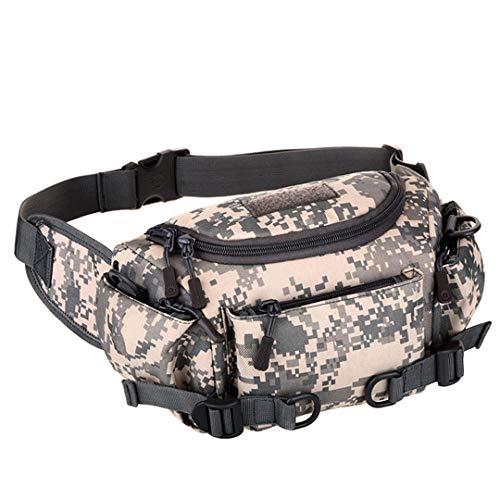 Zipvb Sacs à Dos et Sacs de Sport Protector Plus Tactical Waist Bag Military Crossbody Bag Army Bag Multifunctional Outdoor Bag Camping Hiking Bag for Man ACU