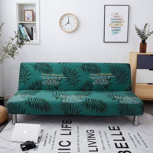 WBFN Slipcover, Tissu Extensible Causeuse élastique, Tout Compris Pliant Canapé-lit Couverture Tight Wrap Sofa Serviette No Accoudoirs Tight Wrap Sofa for Living Room