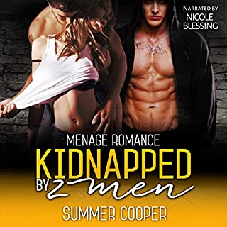 Kidnapped by 2 Men audiobook cover art