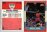 Michael Jordan Chicago Bulls 1986-87 Fleer Rookie RC REPRINT #57