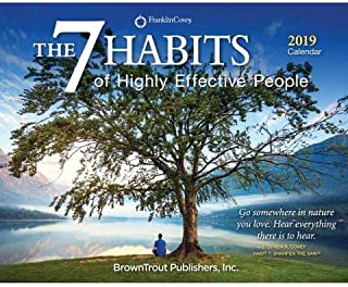 2019 The 7 Habits of Highly Effective People 365 Page-A-Day (Full Color) Boxed Calendar