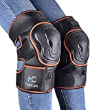 Massaging Heated Knee Brace Wrap Support, Electric Heat Treatment Heating Pad Massager Provides Knee Heat and Vibration Massage, Perfect Gift for The Elder or Parents