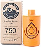 Outdoor Microbiological Bottle Filter | Replacement Filter for Ultimate Outdoor Travel Bottle | 100 Gallon Filter Life |