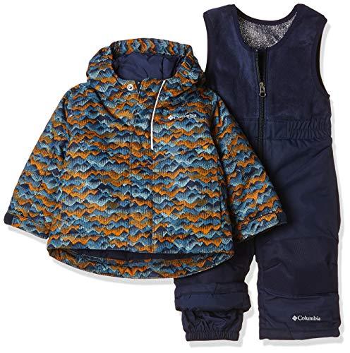 Columbia Sportswear Kinder Buga Set Unisex Anzug, Canyon Gold TRE, 12/18