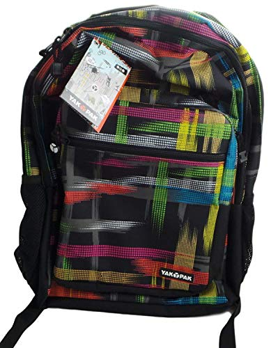 Yak Pak The Biggie Back Pack Multi Colored 6887-996