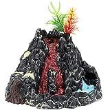 NUOBESTY Volcán Modelo Artificial Volcánico Modelo Figura Acuario Tanque Paisaje Modelo Niños Jurásico Escena Mundial Diseño Adornos Juguetes